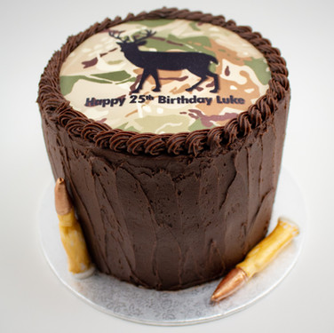 Stag Cake