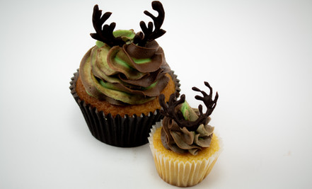 Stag Cupcakes