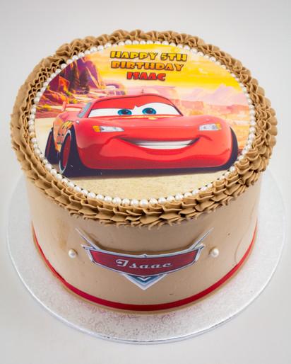 Cars Edible Image Cake