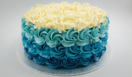 Ombre Floret Cake