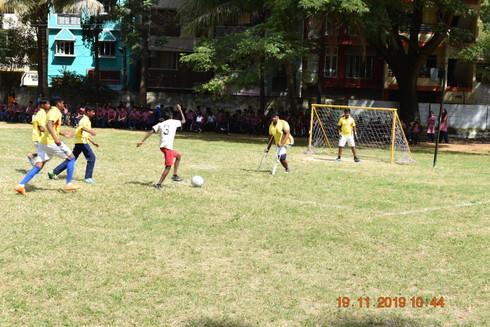Football Match on 19-11-2019 Ananya Vs SSK