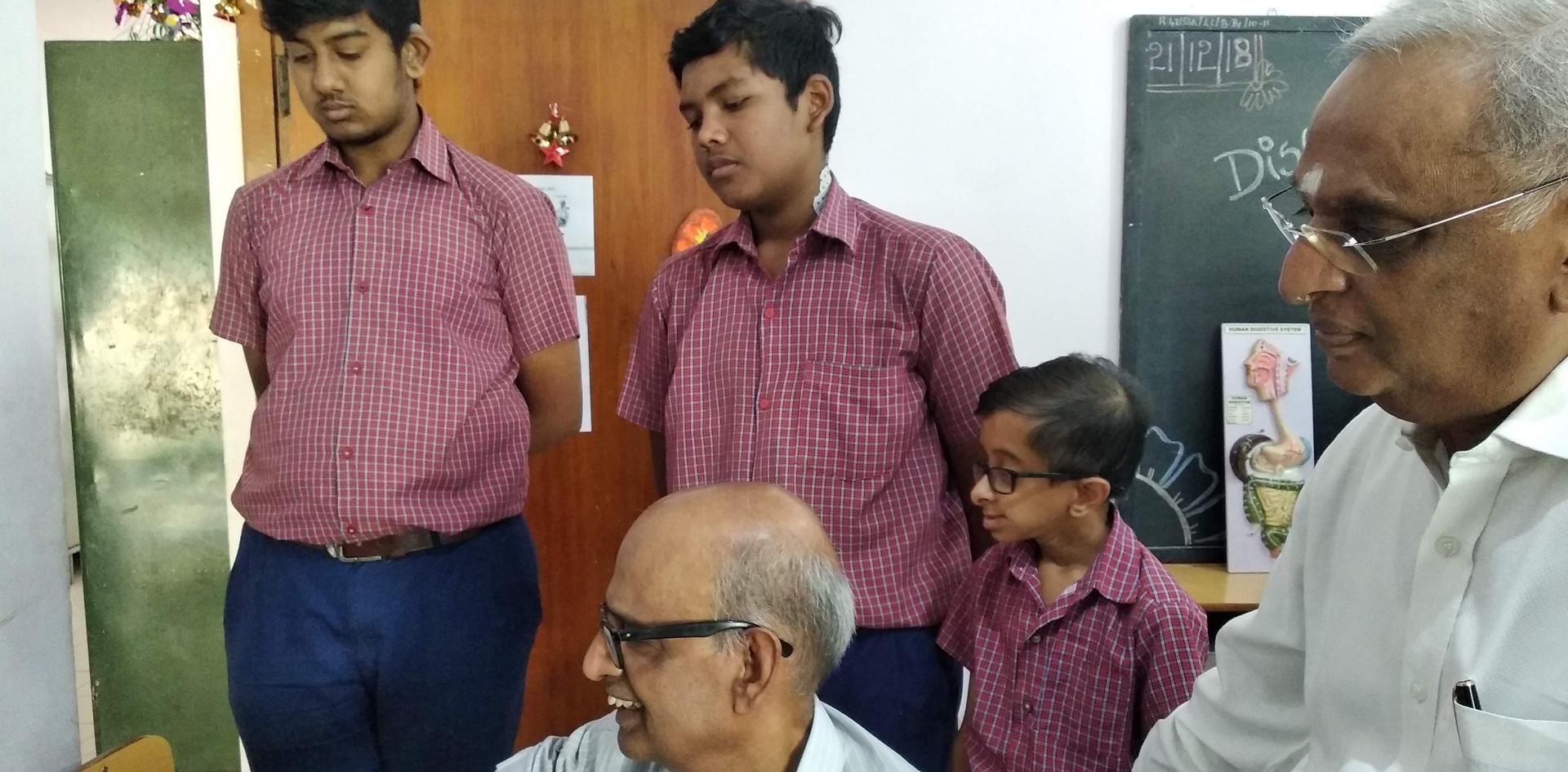 8. Life Member, Govindrajan and Secretar
