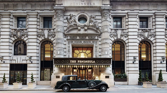 Peninsula New York City Entrance