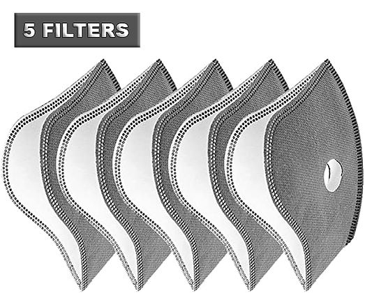 (5-PACK) 5-LAYER FILTER REPLACEMENT