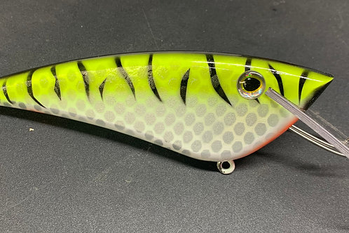 """7"""" Chartreuse Tiger"""