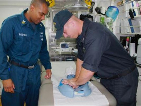 Face of Defense: USS Stethem's Sailors Learn CPR