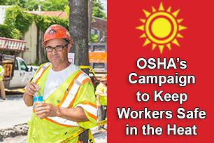 OSHA Focuses on Worker Heat Hazards
