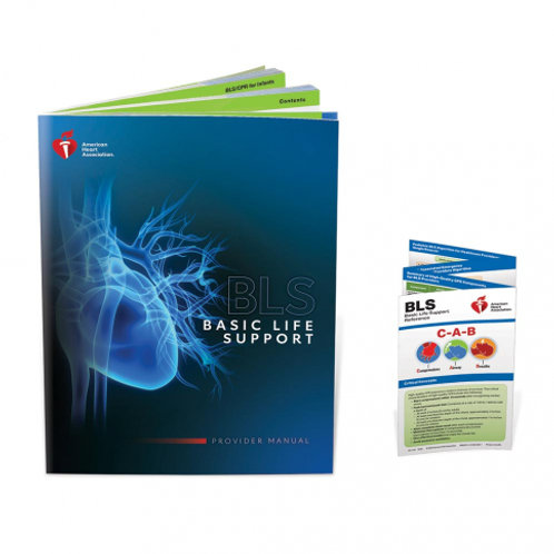 AHA Basic Life Support Provider Manual for BLS class