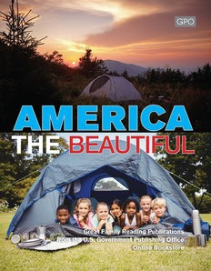 """""""AMERICA THE BEAUTIFUL"""" Catalog"""", a timely Family Reading Summer Experience!"""