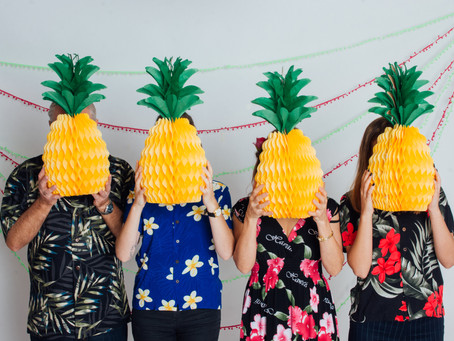 Tropical family photoshoot!