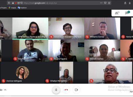 SPM realiza reunião para iniciação de projeto contra COVID-19
