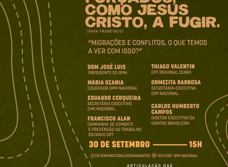 Pastorais do Campo realizam Seminário com tema: Migrações e conflitos, o que temos a ver com isso?