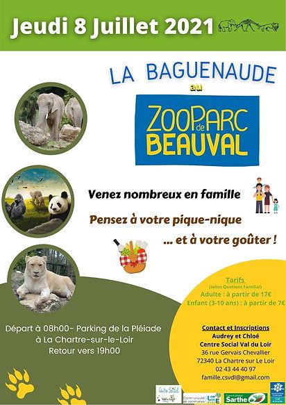 La Baguenaude au Zoo de Beauval 08.07.20