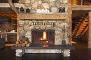 Home fireplace