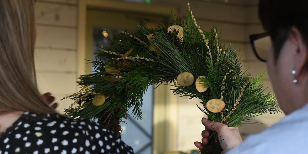 Wreath Workshop with Scottish Cut Flowers