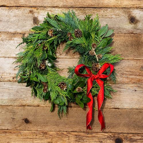 """Christmas Wreath 12"""""""