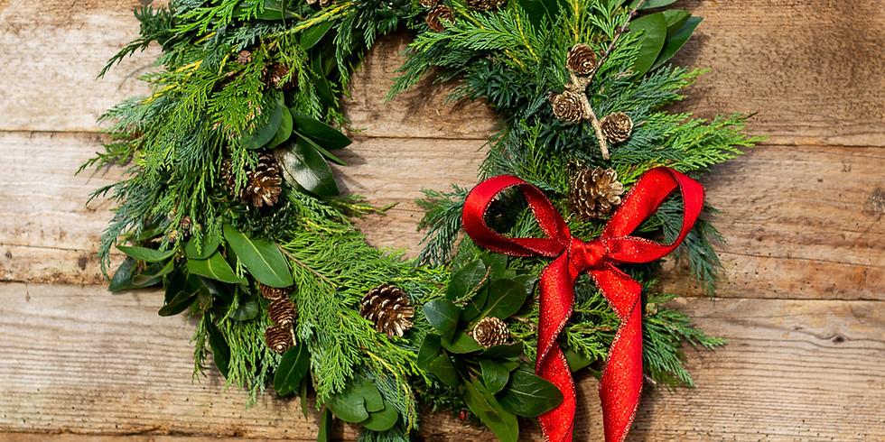 Wreath Workshop 1st of Dec, 2pm