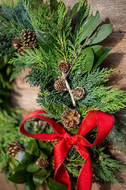 """Christmas Wreath 10"""""""