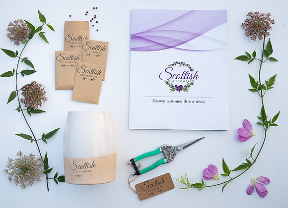 Grow Your Own Cut Flowers kit.