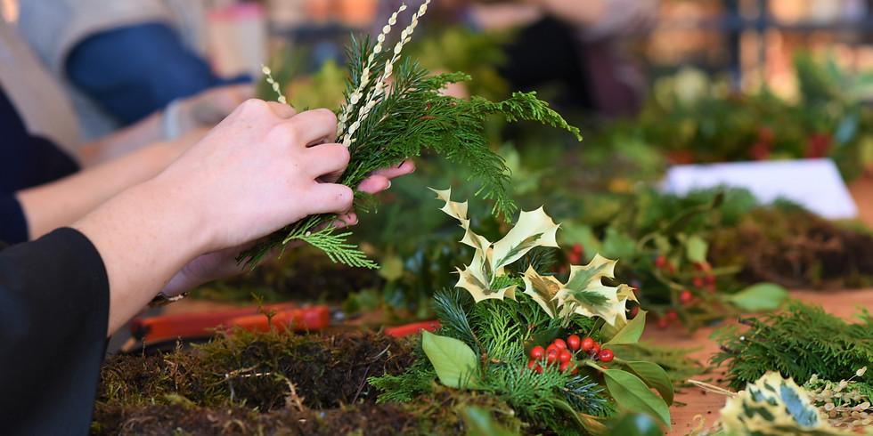 Wreath Workshop 9th of Dec, 6.30pm