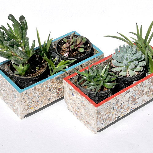 RAY STACKABLE PLANTER RECTANGLE