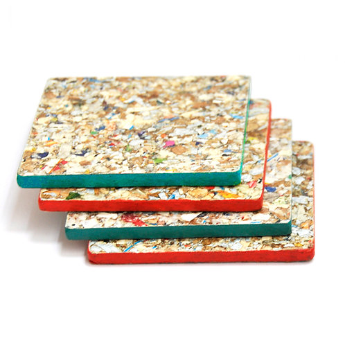 MIXED COASTER SET OF 4