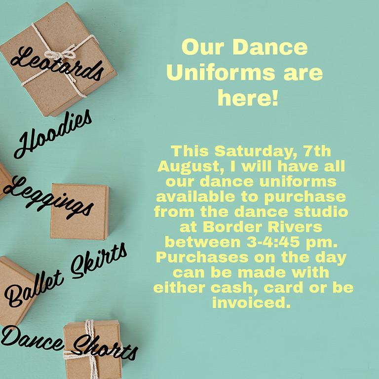 Uniforms Sale!
