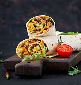 burritos-wraps-with-beef-and-vegetables-