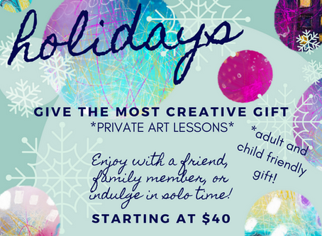 Give the most creative gift of all!