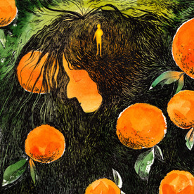 Love Poems illustrations
