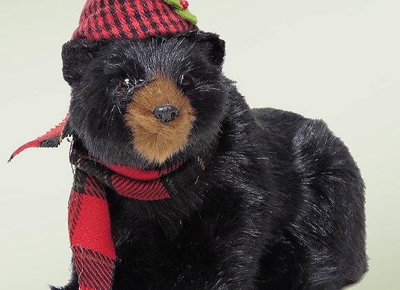 Seated Black Bear