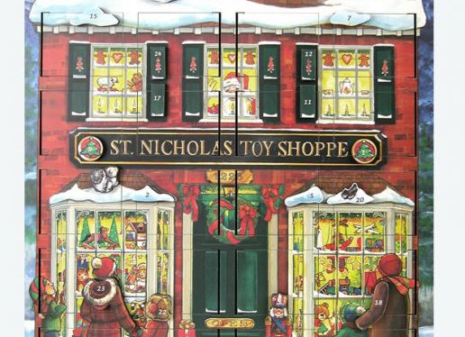 Byers' Choice Musical Toy Shoppe Advent Calendar