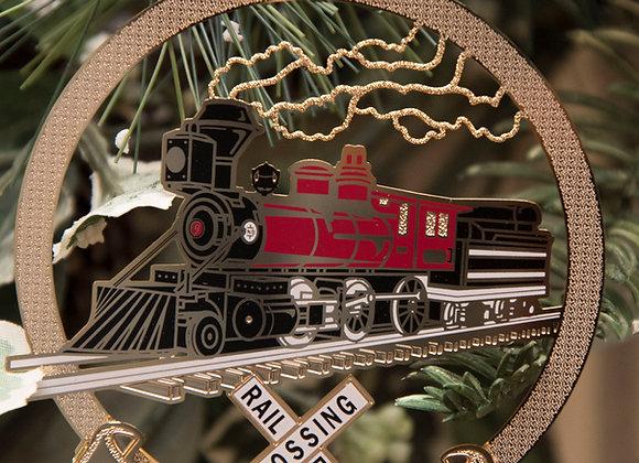 Custom Jim Thorpe Scenic Railway Ornament
