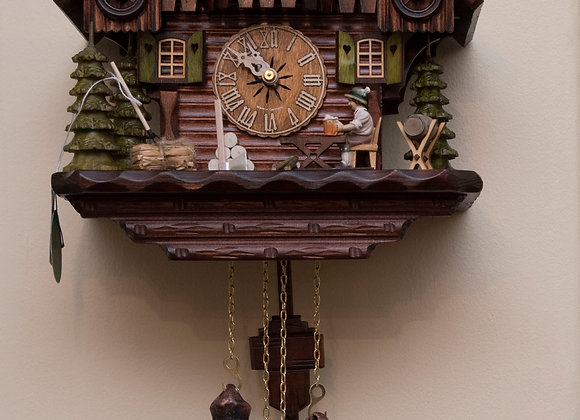 8 day chalet cuckoo clock