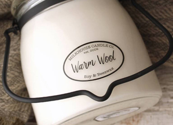 Warm Wool 16oz. Milkhouse candle