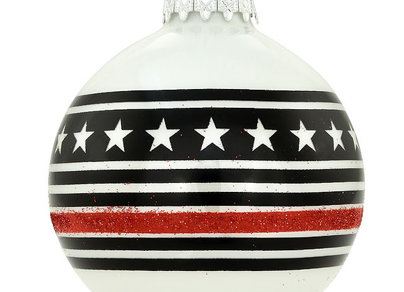 Thin red line ball