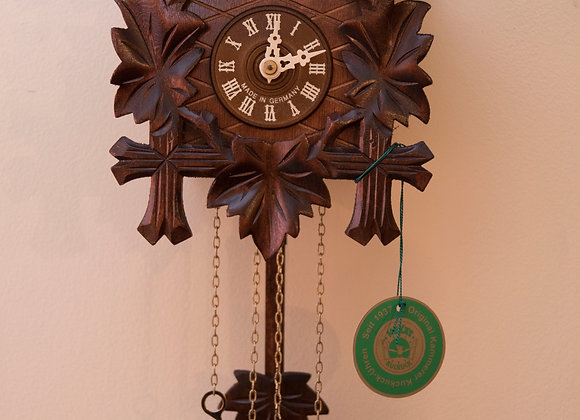 1-Day Carved Black Forest Cuckoo Clock