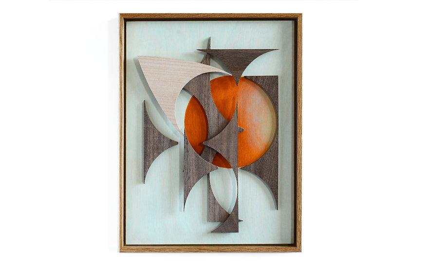 abstract composition home decor wall art