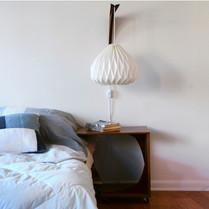 origami wall lamp