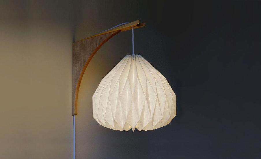 UME WALL LAMP w/ Wooden Bracket