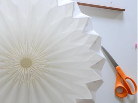 Origami Lampshades
