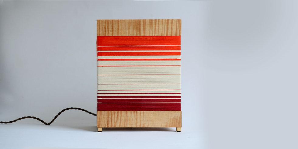 STRATA LAMP - Handwoven table lamp
