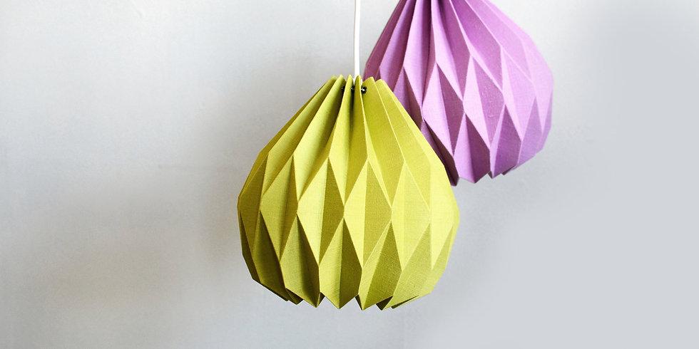 Color Origami Pendant Lamp