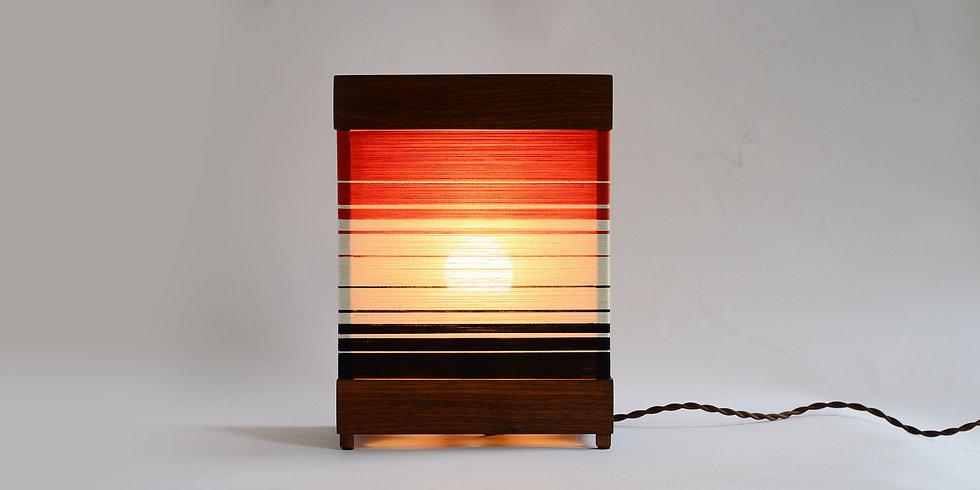 Warm, Glowing Table Lamp