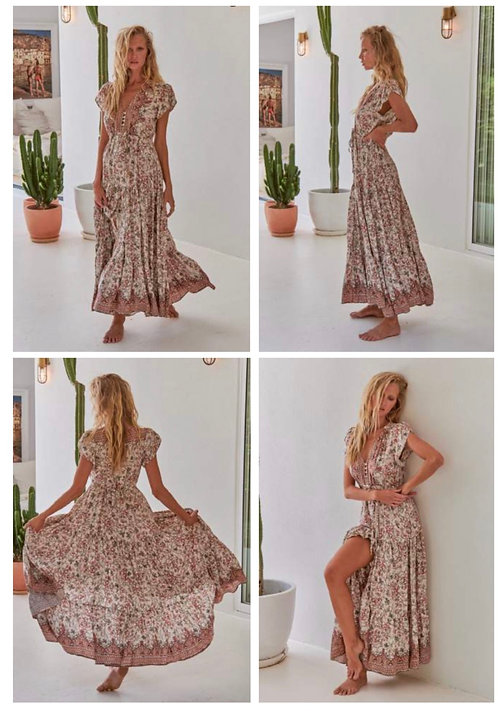 Mia maxi dress from the Aussie Collection