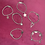 Thumbnail: Silver Charm Bead Bracelets