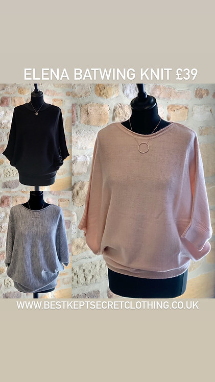 Elena Batwing Sweater