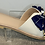 Thumbnail: White Sandals with Satin Bow Detail