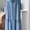 Thumbnail: Amie Italian Soft Denim Tiered Dress