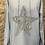Thumbnail: Cotton Hoodie with Sequin Star Motif